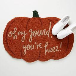 Oh My Gourd Doormat   Anthropologie (US)