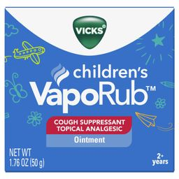 Vicks VapoRub Children's Cough Suppressant Chest Rub Ointment 1.76 Oz. | Walmart (US)