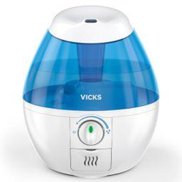 Vicks Mini Filter-Free Cool Mist Humidifier, White, VUL520W | Walmart (US)