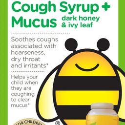Zarbee's Naturals Children's Cough Syrup + Mucus with Dark Honey, Grape, 4 fl oz | Walmart (US)