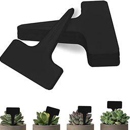BEADNOVA Plant Labels 70pcs Plant Tags T Type Plant Markers Plastic Garden Signs Identification S... | Amazon (US)