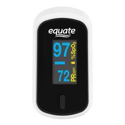 Equate Fingertip Pulse Oximeter, Oxygen Level Pulse Rate | Walmart (US)