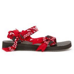 Trekky Sandal Red   Oxygen Boutique