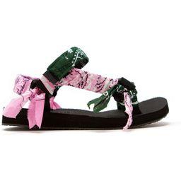 Trekky Pink Green Bandana   Oxygen Boutique