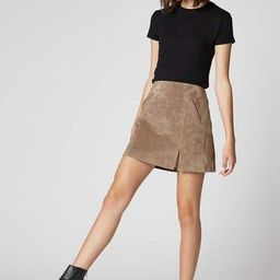 French Taupe Skirt | BlankNYC