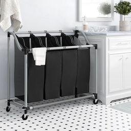 Deluxe Quad Laundry Sorter | Wayfair North America