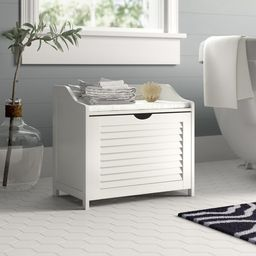 Single-Load Seated Laundry Hamper | Wayfair North America