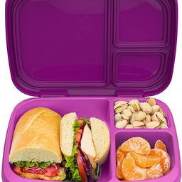 Bentgo Fresh – Leak-Proof, Versatile 4-Compartment Bento-Style Lunch Box with Removable Divider... | Amazon (US)