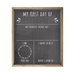 First Day Of School Rustic Sign 10x12 | Etsy | Etsy (US)
