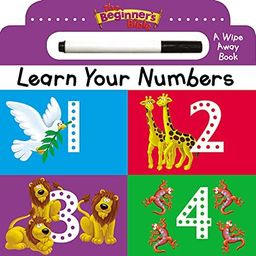 The Beginner's Bible Learn Your Numbers: a Wipe Away book: Zondervan: Amazon.com: Books | Amazon (US)