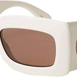 Gucci GG0811S Ivory/Brown 53/21/145 women Sunglasses | Amazon (US)