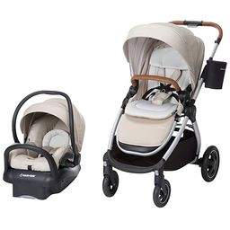 Maxi-Cosi Adorra 2.0 5-in-1 Modular Travel System with Mico Max 30 Infant Car Seat, Nomad Sand   Amazon (US)