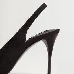 Leather pumps -  Women | Mango USA | MANGO (US)