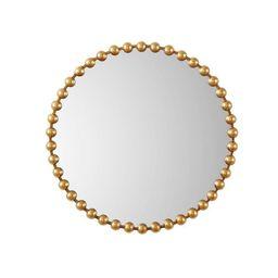 "36"" Dia Marlowe Round Decorative Wall Mirror Gold | Target"
