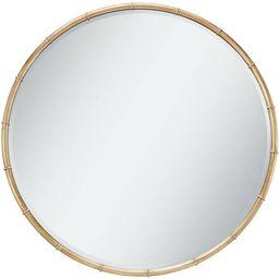 "Uttermost Morgan Antique Gold Leaf 34"" Round Ring Framed Wall Mirror | Target"