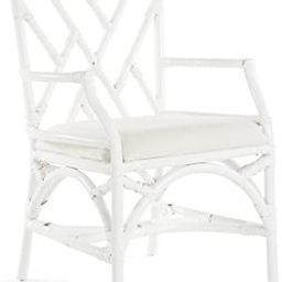 KOUBOO Chippendale Dining Chair , White | Amazon (US)