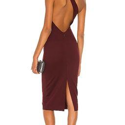 Adila Dress in Burgundy | Revolve Clothing (Global)