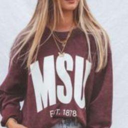 charlie southern: mississippi state corded sweatshirt   RIFFRAFF