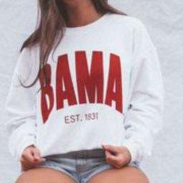charlie southern: bama corded sweatshirt   RIFFRAFF