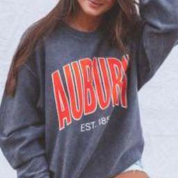 charlie southern: auburn corded sweatshirt   RIFFRAFF