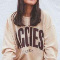 charlie southern: a&m aggies corded sweatshirt   RIFFRAFF