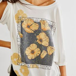 Exploding Flowers One Size Tee | Free People (US)