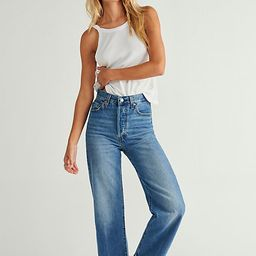 Levi's Ribcage Straight Ankle Jeans | Free People (US)
