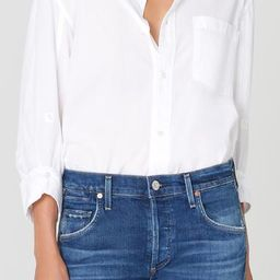 Kayla Shirt in Optic White   Citizens of Humanity