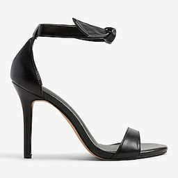 Ankle Tie Heeled Sandals   Express
