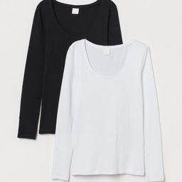 2-pack Jersey Tops   H&M (US)