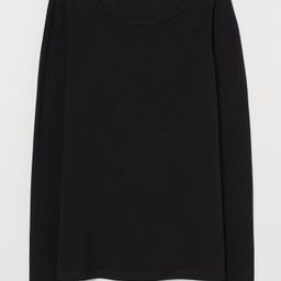 Long-sleeved Jersey Top   H&M (US)