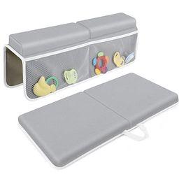 Bath Kneeler with Elbow Rest Pad Set, JJGoo 1.5 inch Thick Kneeling Pad Mat for Baby Bathtub, Bat... | Amazon (US)