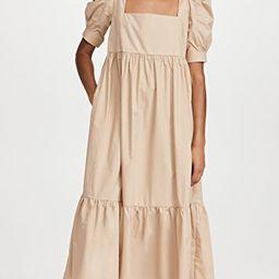 Square Neck Midi Dress   Shopbop