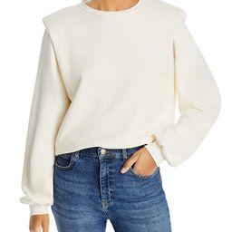 The Push & Shove Shoulder Pad Sweatshirt   Bloomingdale's (US)