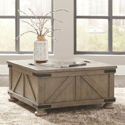 Emiliano Lift Top Coffee Table with Storage   Wayfair North America