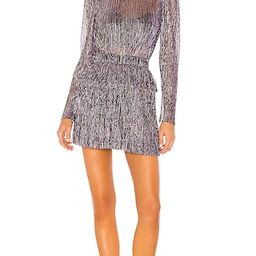 X REVOLVE Monique Dress in Purple | Revolve Clothing (Global)