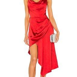 X REVOLVE Jacinda Dress in Poppy Red | Revolve Clothing (Global)