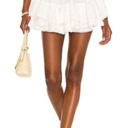 Tularosa Tinsley Skirt in Off White from Revolve.com   Revolve Clothing (Global)
