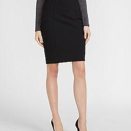 High Waisted Soft & Sleek Pencil Skirt | Express