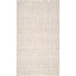 Gia Handmade Flatweave Jute/Sisal Off White Area Rug | Wayfair North America