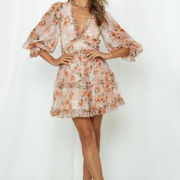 All Natural Beauty Dress Nude | Hello Molly