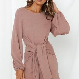 Life Out There Dress Mocha | Hello Molly