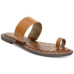Sam Edelman Women's Gorgene Toe-Ring Sandals & Reviews - Sandals - Shoes - Macy's | Macys (US)