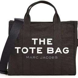 The Marc Jacobs Women's Small Traveler Tote, Black, One Size | Amazon (US)