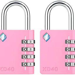 [ZARKER XD40] Padlock- 4 Digit Combination Lock for Gym, Sports, School & Employee Locker, Outdoo...   Amazon (US)