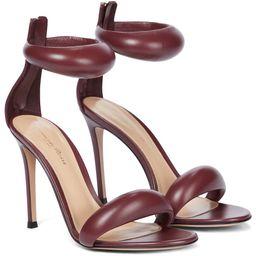 Bijoux 105 leather sandals | Mytheresa (US)
