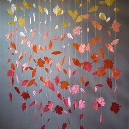 Fall Leaf Garland Display | Etsy (US)