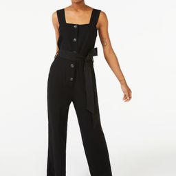 Free Assembly Women's Sleeveless Wide Leg Jumpsuit   Walmart (US)