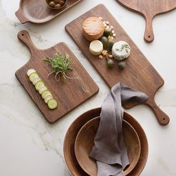 Chateau Handcrafted Acacia Wood Cheese & Charcuterie Boards | Pottery Barn (US)