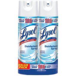 3 Pack - Lysol Disinfectant Spray, Crisp Linen, 38oz (2X19oz)   Walmart (US)